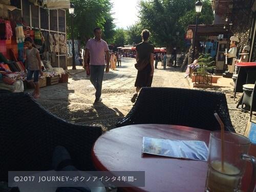 メディナのカフェ