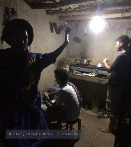 砂漠のキッチン