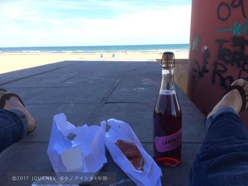 バレンシアのビーチ3